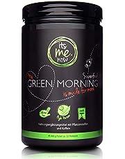 itsme.Now® My Green Morning Smoothie Pulver - 450 g Superfood - Protein Frühstücksshake aus 20 Pflanzenstoffen - Vegan & Ohne Zusätze - Made in Germany