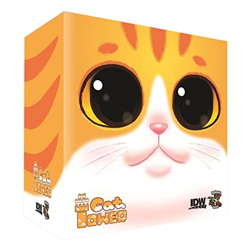 Lovely Cat Tower Building Game