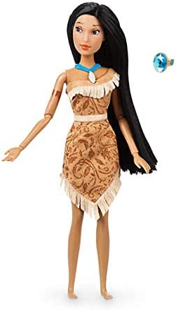NEW Official Disney Pocahontas 30cm Classic Doll with Ring