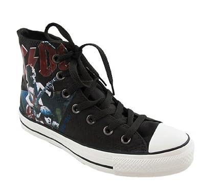 57e651da28cb42 Converse AC DC High Top Sneakers (11)  Amazon.co.uk  Shoes  u0026 Bags