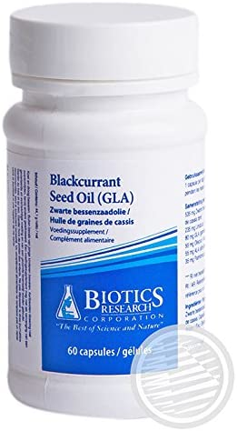 Biotics Research Blackcurrant Seed Oil — 60 Capsules