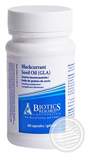 Biotics Research Blackcurrant Seed Oil -- 60 Capsules