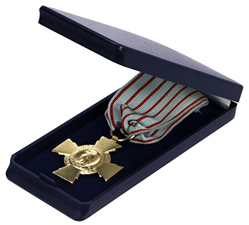 Individual Leatherette Military Medal Case