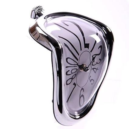 """cyi 1 X espiral de reloj fundido""""Salvador Dali, para en una roca"""