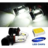 LEDIN SAMSUNG High Power Projector LED Fog Driving Light Bulb 9005 HB3 White 15W