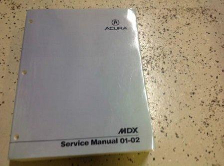 2002 acura mdx service manual - 5