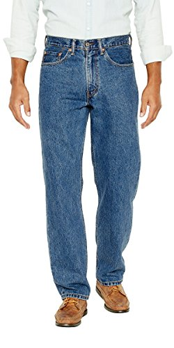 Levi's Men's Big and Tall 550 Relaxed Fit Jean, Medium Stonewash, 60W x 28L