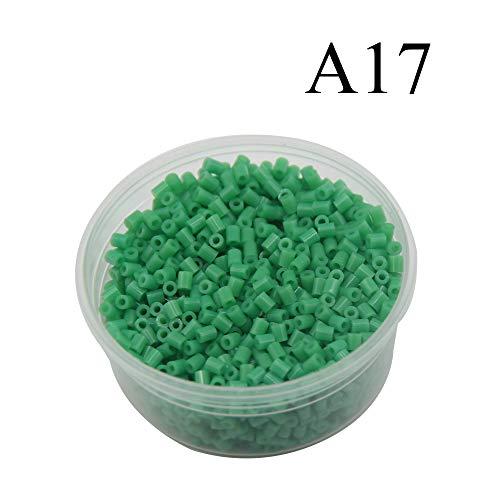 Canutillos Mini Beads 2.6mm (2000 Unidades) verde