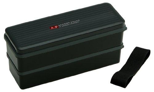 スケーター シール蓋付 弁当箱 ランチボックス 大容量 900ml アクセントポイント メンズランチ 男性用 SSLW9