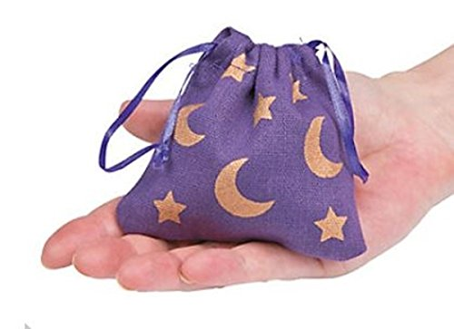 Fun Express Wizard Party Bags - 12 Mini Favor Bags - Fabric Favor Bags