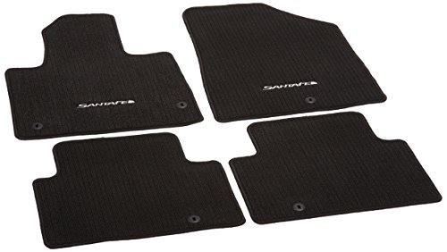 Genuine Hyundai Accessories Custom Fit Carpeted Floor Mat - (Black) - 4ZF14-AC100-RYN