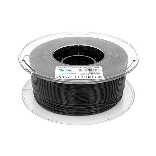 PETG Filament 3D Printer Filaments 1.75 MM Dimensional Accuracy High Tenacity 3D Printing Consumables 1KG Spool Black
