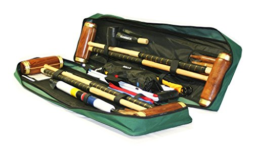 Garden Games Hurlingham Croquet Set (4 player in a Tool Kit Bag) by Garden Games