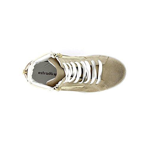 by amp;Scarpe Estrada'sport Scarpe Donna Beige Sneakers zqdxPw0d