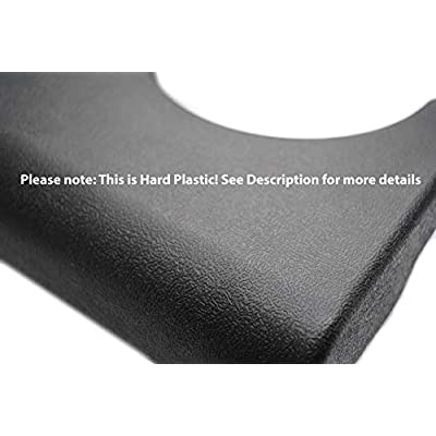 Custom Install Parts Center Console Cupholder Replacement Pad Compatible with Ford F-250 F-350 1999-2010 (Light Gray/Flint): Automotive
