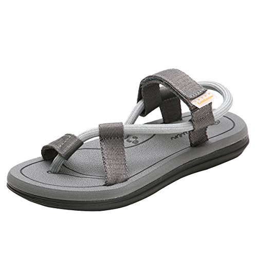 Cior Heren En Dames Handgemaakte Flip-flop Mode Strand Slipper Indoor En Outdoor Klassieke String Sandalen Grijs