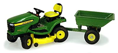 116 John Deere X324 Lawn Tractor With Cart from Rc2