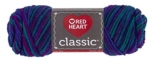 Classic Gemstones - Red Heart Classic Yarn, Gemstone