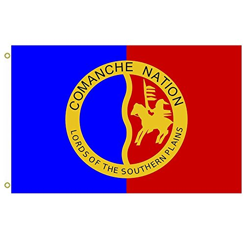 Flag Comanche Nation outdoor Flying