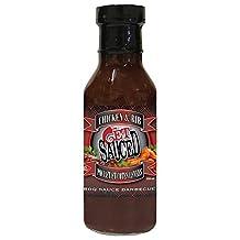 Get Sauced & Spiced Chicken & Rib BBQ Sauce, 12 Fl Oz