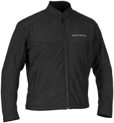 FirstGear Softshell Liner Men's Textile Sports Bike Motorcycle Jacket - Black / Large by Firstgear (Image #2)