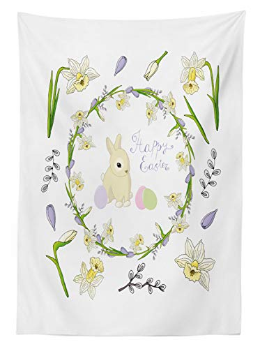 Buy easter bunny tablecloth