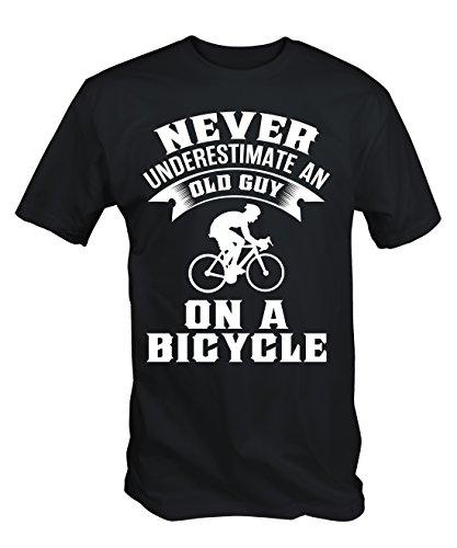 Una Sottovalutare T Uomo Vecchio Bicicletta Su Rragazzo 6tn Shirt In Un Mai Divertente 0x6nOZq