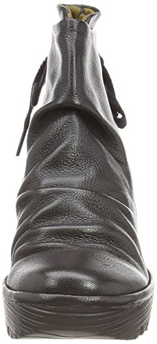 London Boots Black Women's Yama Black Fly qdC1xq
