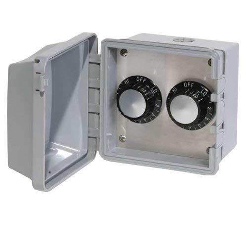Infratech 14 4225 Accessory - 240 Volt Dual Reg Surface Mount and Gang Box, Patio Heater Regulator