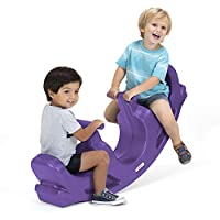 Simplay3 Rock and Roll Teeter Totter Seesaw, Purple