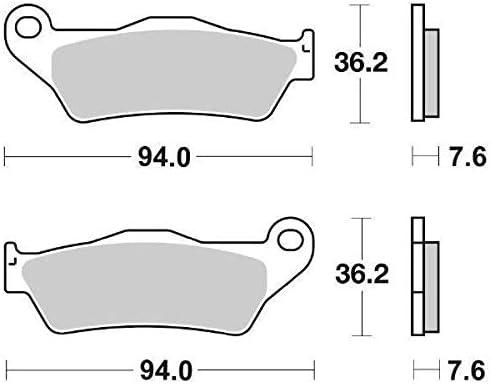 P151HF Yamaha Majesty 125//150//180 SBS Pastilla Freno Dela