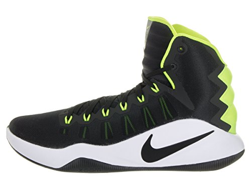 Nike Mens Hyperdunk 2016 Basketskor Svart / Svart-volt