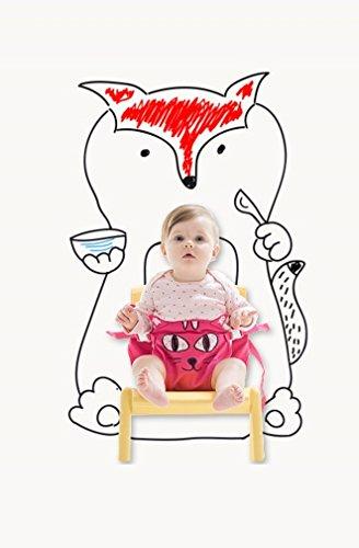 Yunimamang Kangaroobelt Baby Necessites Baby Seat Belt Toddler Safety Harness (Hot Pink Cat) by Yunimamang (Image #10)