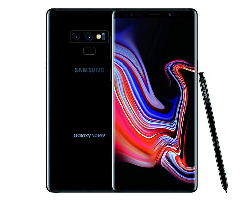 Samsung Galaxy Note 9 N960U 128GB T-Mobile GSM Unlocked Phone (Midnight Black) (Renewed)