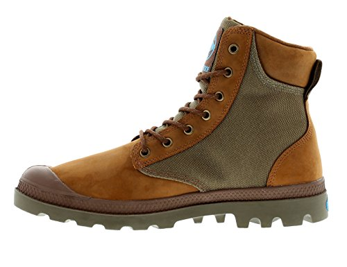 Palladium Menns Pampa Sport Cuff Wpn Regn Boot Brown