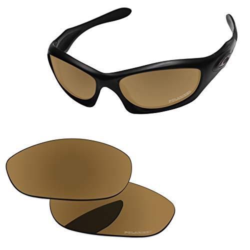PapaViva Lenses Replacement for Oakley Monster Dog Bronze Golden - Polarized