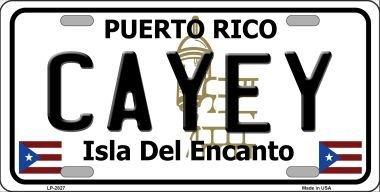 Puerto Rico Metal (Smart Blonde LP-2827 Cayey Puerto Rico Metal Novelty License Plate)