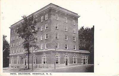 E1324 NC, Reidsville Hotel Belvedere Postcard