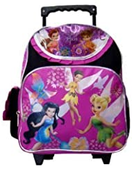 TinkerBell Small BackPack - Disneys Fairies Small Rolling School Bag
