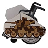 Camo Tank Wheelchair Costume Child's
