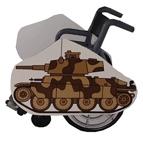 Camo Tank Wheelchair Costume Child's ()