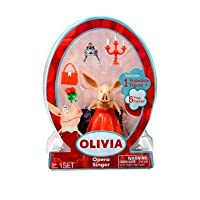 Olivia The Pig Mini Figure - Opera Singer