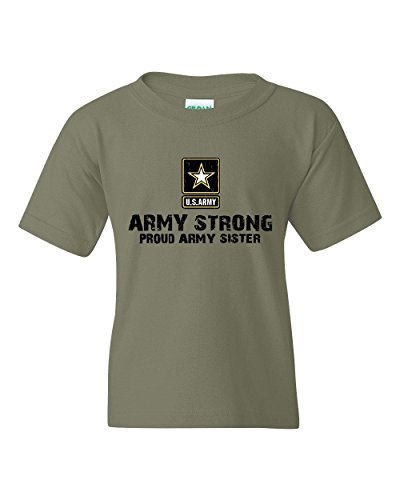 Price comparison product image NIB U.S. Army Star Army Strong Proud Army Sister Match w Flag Hat Backpack Unisex Youth Shirts
