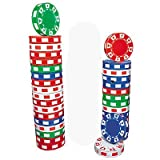 Fun Express 3D Poker Chip Columns