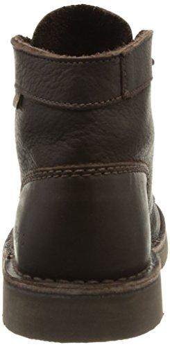 Kickers Schuhe - Schnürschuh Kick Kraag - Bruin Donker 209.034-30 - Bruin (dark Brown 92)