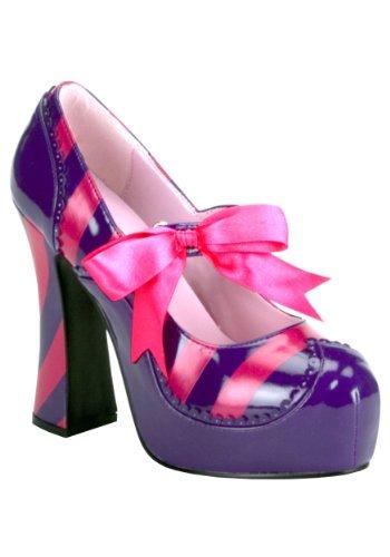 Funtasma by Pleaser Women's Kitty-32/PURHP Pump,Purple/Hot Pink Patent,9 M US