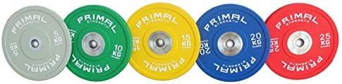 Primal Strength Urethane Bumper Plates 5-25kg