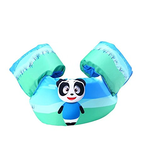 KateDy Kids Basic Life Jacket|Learn-To-Swim Aid for Beginners|Portable Child Lifejacket Buoyancy Vest|Cute Animals Cartoon Child Floating - Outfitters Lost Coast