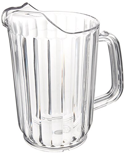 Winco Polycarbonate Clear Water Pitcher, 32 Ounce - 1 each. by Winco (Image #2)