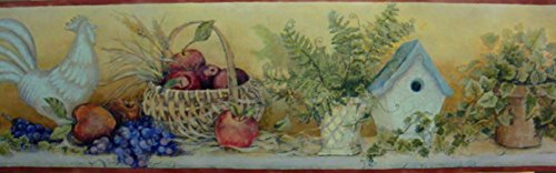 - Wallpaper Border Dream Weaver Apples in Basket